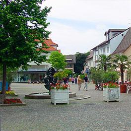 Fußgängerzone Bad Krozingen