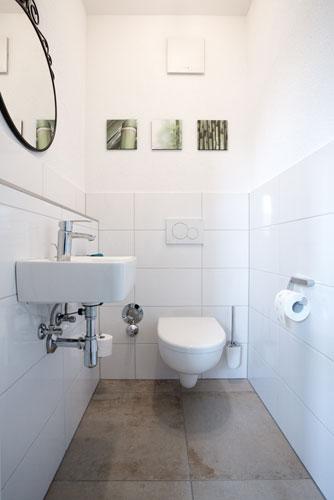 Beispielfoto für Badezimmer in der Ferienwohnung Nescht