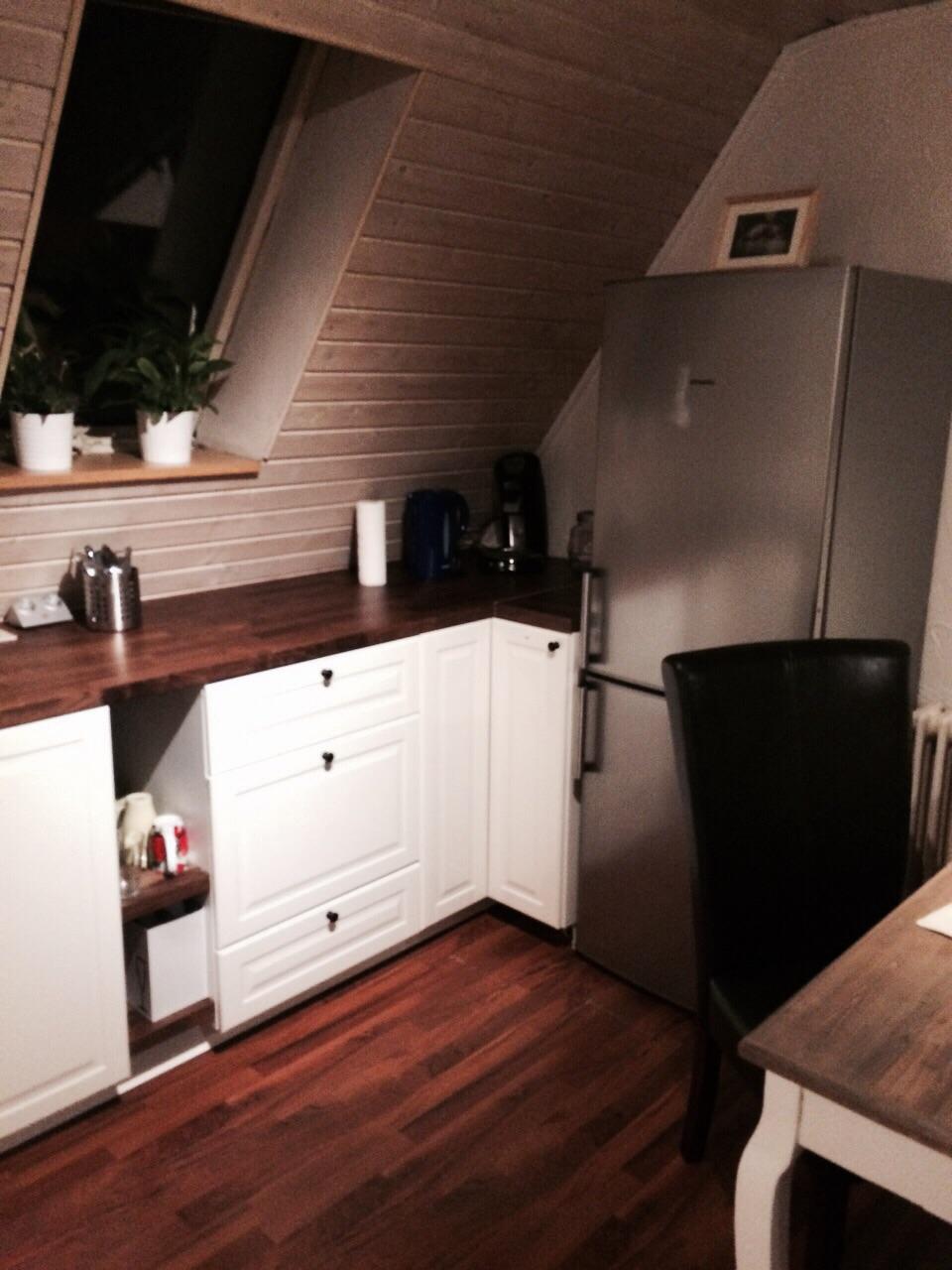 Küchenbereich Ferienwohnung Stüble