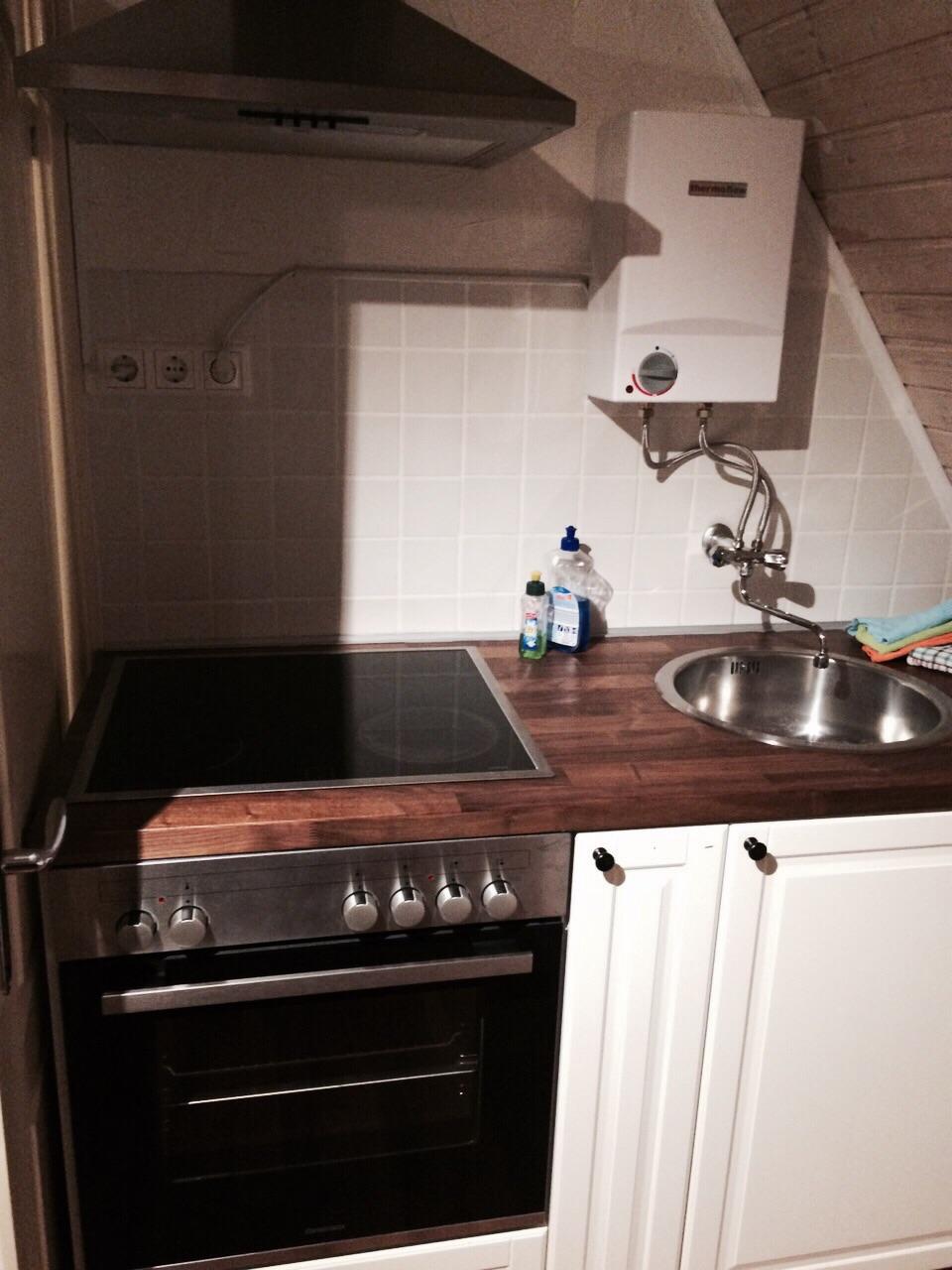Kochbereich Ferienwohnung Stüble