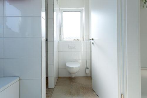 WC in der Ferienwohnung Ussicht