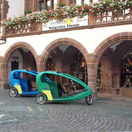 Fahrrad-Taxi Freiburg