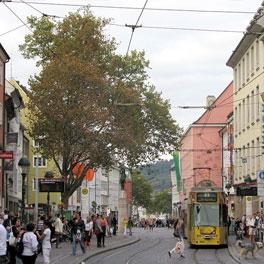 Freiburg Shopping Meile